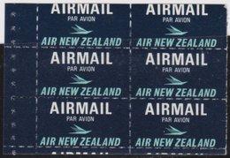 NZ    .     SG   .   Airmail  6x    .        **    .         MNH      .   /   .    Postfris - Nieuw-Zeeland