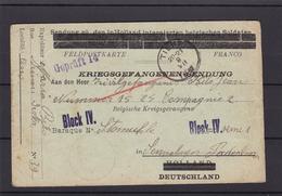 Carte Envoyée à Un Prisonnier En Allemagne - Weltkrieg 1914-18