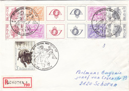 BELGIEN R-Brief 1978 - Briefe