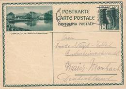 SCHWEIZ 1932 - Bildpostkarte - Ganzsachen