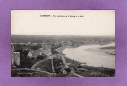 50 CARTERET  Vue Générale Sur Le Bourg Et Le Port - Carteret