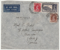 LETTRE - INDE - Bombay Le 21/12/1938 - India (...-1947)