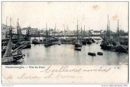 CPA (Réf : I488)  BLANKENBERGE  (BELGIQUE) Vue Du Port (nombreux Bateaux De Pêche) - Belgio