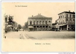 CPA (Réf :J081) CAHORS (LOT 46) LE THÉATRE (animée) - Cahors