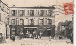 75020--PARIS--PLACE DES GRES ET RUE VITRUVE--VOIR SCANNER - Paris (20)