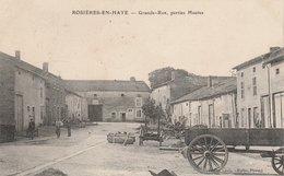 54--ROSIERES-EN-HAYE--GRANDE RUE-PARTIES HAUTES--VOIR SCANNER - France