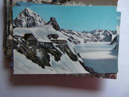 Zwitserland Schweiz Suisse BE Jungfraujoch Berghaus Observatorium - BE Berne
