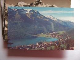 Zwitserland Schweiz Suisse GR St Moritz Dorf Und Bad - GR Grisons