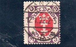 DANTZIG 1921-3 O - Dantzig
