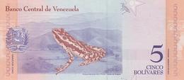 Venezuela P.new   5  Bolivares 15-01-2018 Unc - Venezuela