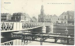 MEULESTEDE : Le Pont - RARE VARIANTE - Cachet De La Poste 1907 - Gent