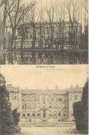 ESCH-SUR-ALZETTE ; Le Château - RARE VARIANTE - Cachet De La Poste 1936 - Esch-sur-Alzette