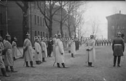 MONTIGNY Lès METZ 1913  2. LOTHR. FELDARTILLERIE REGIMENT N° 34  FETE Du CENTENAIRE (CAVALIERS UNIFORMES) CASERNE LIZE ? - Metz