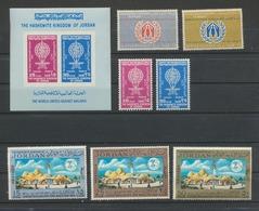 JORDANIE  JORDAN  MNH XX Stamps And Sheet - Jordanie