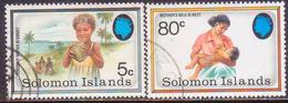 SOLOMON ISLANDS 1991 SG #694,96 Part Set (2 Stamps Of 4) Used Health Campaign - Solomon Islands (1978-...)