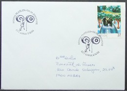 Portugal - Cover 1988 Weightlifting On Cancel Painting - Lettres & Documents