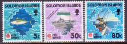 SOLOMON ISLANDS 1991 SG #708-10 Part Set Used (only $2 Missing) Phila Nippon '91 - Solomon Islands (1978-...)
