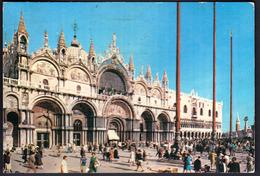 Italy Venezia Venice 1967 / Piazza St. Marco, St. Mark Basilique - Venezia