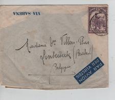 PR6922/ TP 181 S/L.Avion Sabena C.Stanleyville 1935 > Linkebeek - Congo Belge
