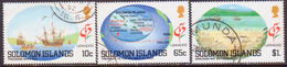 SOLOMON ISLANDS 1992 SG #718//21 Part Set Used (2 Stamps Missing) Granada '92 - Solomon Islands (1978-...)