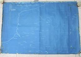 "Rare Carte GB WW2 RAF""Availability Of Aerodrome In BEF Area"" - 1939-45"