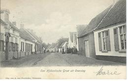 Een Hollandsche Groet Uit OVERSLAG - RARE CPA - Cachet De La Poste 1905 - Holanda