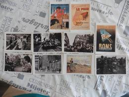 LOT  DE 25  CARTES  POSTALES   THEMES  SUR  LES  GUERRES - Cartes Postales