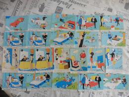 LOT  DE 22  CARTES  POSTALES   DESSINS  DE  RENE   CAILLE   EDITIONS  VAYSSE - 5 - 99 Cartes