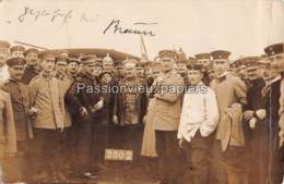 CARTE PHOTO METZ 1913  KARL BRAUN PIONNIER DE L'AVIATION ALLEMANDE NE A METZ  AVIATEUR FORME A FRESCATY - Metz