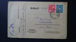 Germany - Allied Occupation - 1946/47 - Mi:DE-TZ 923,945 On Envelope - Look Scan - American,British And Russian Zone