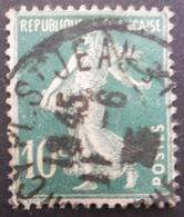 FRANCE Type Semeuse N°159 Oblitéré - 1906-38 Säerin, Untergrund Glatt