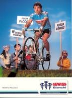 PICCOLO Renato ITA (Portogruaro (Veneto), 31-12-'62) 1989 Gewiss - Bianchi - Ciclismo