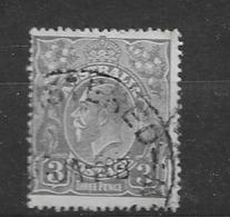 "1926 USED  Australia Watermark ""multiple"" Michel 75A Wz 6, Perf 14 - 1913-36 George V: Heads"