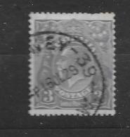 "1926 USED  Australia Watermark ""multiple"" Michel 75C Wz 6, Perf 13 1/2 : 12 1/2 - 1913-36 George V: Heads"