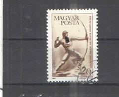 Ungheria PO 1984 Arciere   Scott.2858+See Scan On Album Page; - Usati