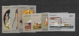 1972 MNH  Australia Mi 504-10 - 1966-79 Elizabeth II