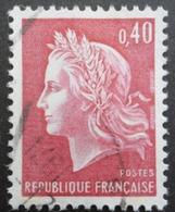 FRANCE Marianne De Cheffer N°1536Ba 2 Bandes De Phosphore Oblitéré - 1967-70 Marianne (Cheffer)