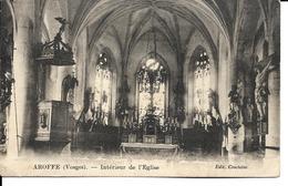 88 - Aroffe - Intérieur De L'Eglise - France