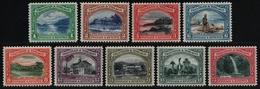 Trinidad & Tobago 1935 - Mi-Nr. 115-123 * - MH - Landschaften / Landscapes - Trinidad & Tobago (...-1961)
