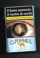 Tabacco Pacchetto Di Sigarette Italia - Camel  Da 20 Pezzi N.4 - Tobacco-Tabac-Tabak-Tabaco - Porta Sigarette (vuoti)