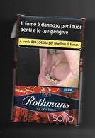 Tabacco Pacchetto Di Sigarette Italia - Rothmans Red 2019 N.1 Da 20 Pezzi - Tobacco-Tabac-Tabak-Tabaco - Porta Sigarette (vuoti)