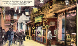 Le Stand Banania A L Exposition Coloniale - Advertising