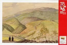 Lote PEP1340, Colombia, 2019, Entero Postal, Postcard, Historia, History, Boyaca, Mountain - Colombia