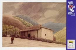 Lote PEP1351, Colombia, 2019, Entero Postal, Postcard, Historia, History, Santander, House - Colombia
