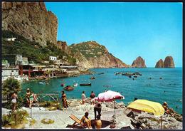 Italy Capri 1970 / Marina Piccola, International Bains, Beach - Napoli