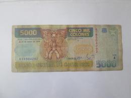 Costa Rica 5000 Colones 1995 Banknote - Costa Rica