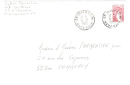 ISSENHEIM  68 Haut Rhin Ob Manuelle1980 Enveloppe Format Particulier (probablement Faire Part) 1,30f SabineYv 2059 - Briefe U. Dokumente
