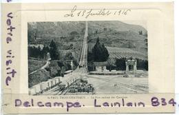 - St-PAUL-TROIS-CHATEAUX - Plan Incliné Des Carrières, Superbe, écrite, 1916, TTBE, Scans. - Autres Communes