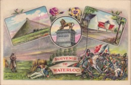 Carte à Système Souvenir De Waterloo - Waterloo