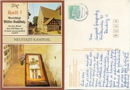 AK Neustadt Dosse Ortsteil Kampehl, Gruft Und Mumie Von Ritter Kahlbutz - Neustadt (Dosse)